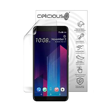 Celicious Vivid Plus Mild Anti-Glare Screen Protector Film Compatible with HTC U11+ [Pack of 2]