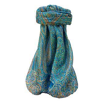 التوت الحرير التقليدي ساحة وشاح كويارا أكوا من باشمينا والحرير