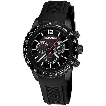 Wenger Men's Watch 01.0853.109 Chronographs