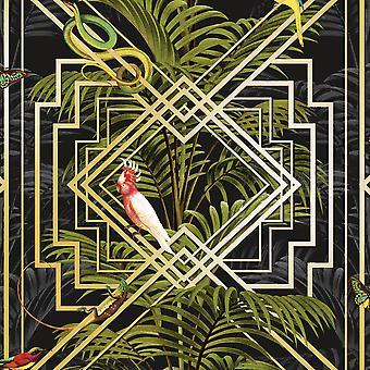 Congo geometrisch behang Holden