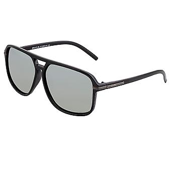 Simplify Reed Polarized Sunglasses - Black/Silver