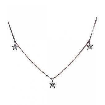Diamond Collier Collier-18K 750 rood goud-0,63 CT.