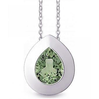 QUINN - Necklace - Women -Silver 925 - Gemstone - Prasiolite - 27254935