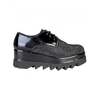 Ana Lublin - Zapatos - Zapatos con cordones - LEILA_NERO - Mujeres - Schwartz - 41