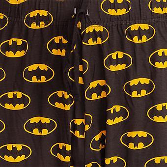 Batman Mens Logo Lounge Bottoms