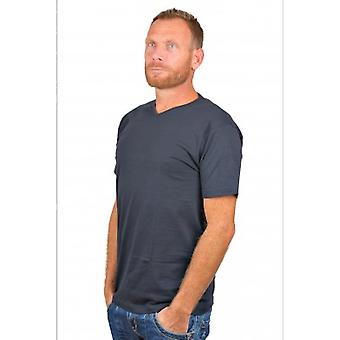 Alan Red T-Shirt Vermont Navy Two Pack (extra long)