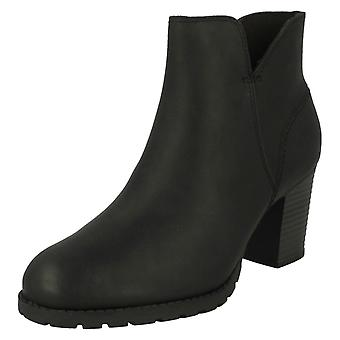 Ladies Clarks Zip Up Ankle Boots Verona Trish