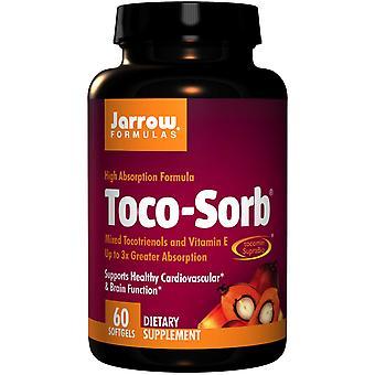 Toco-Sorb Mixed Tocotrienols and Vitamin E (60 Softgels) - Jarrow Formulas