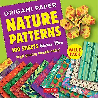 Origami Paper 100 sheets Nature Patterns 6 inch 15 cm by Publishing & Tuttle