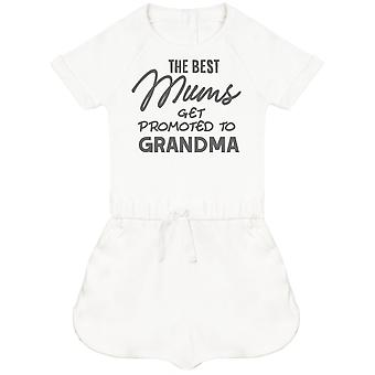 The Best Mums Get Promoted To Grandma Baby Playsuit