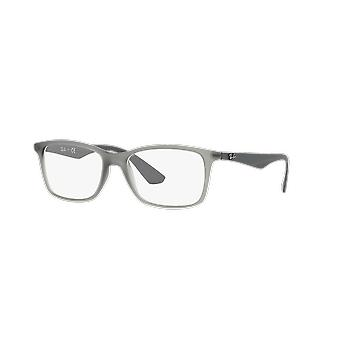 Ray-Ban RB7047 5482 Matt Transparent Grau