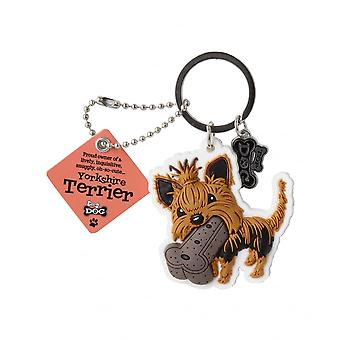 Wags & Whiskers Yorkshire Terrier Keyring