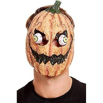 Kürbis Maske Adult Orange