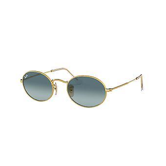 Ray-Ban RB3547 001/3M Gold/Blau Farbverlauf Graue Sonnenbrille