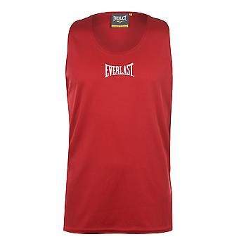 Everlast Mens Compression Vest Sports Tank Top Sleeveless Lightweight