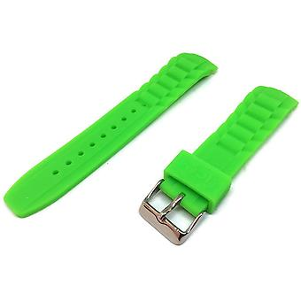 Authentic ice watch strap green with stainless steel buckle sizes 17mm, 20mm and 22mm