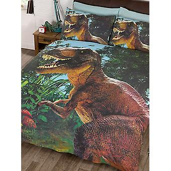 Jurassic T-Rex Dinosaur Duvet Cover Set - Exclusive Design