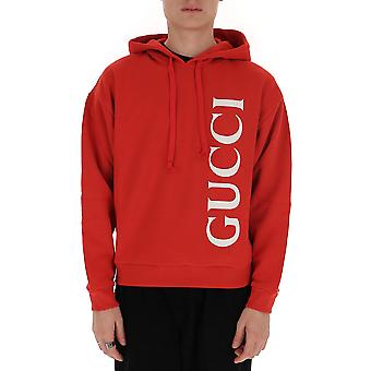 Gucci 604974xjb1c6068 Men's Red Cotton Sweatshirt
