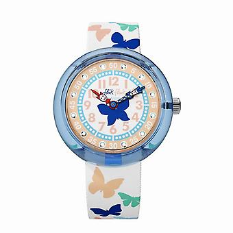 Flik Flak Watches Fbnp099 Papilletta Butterfly Textile Watch