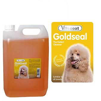 Vitacoat Gold Seal Concentrate Shampoo Bottle 5L (Dogs , Grooming & Wellbeing , Shampoos)