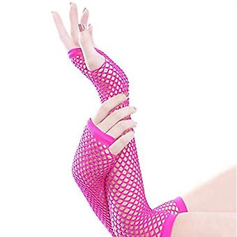 LDEXIN 2 Paare Elastische Netz Mesh Handschuhe Fingerless Mitten für Fancy Partie...