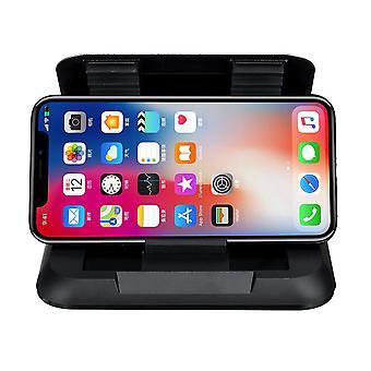 Fibra di carbonio cruscotto ventosa tazza telefono auto 360 gradi di rotazione per 3.5-6.5 pollici smart phone iphone samsung