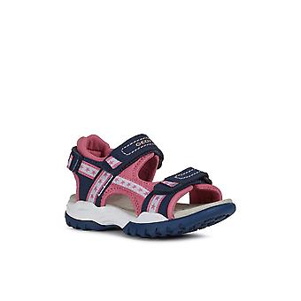Geox Kids J Borealis Girl A Touch Fastening Sandal