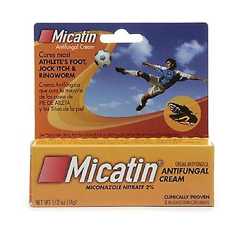 Micatin antifungal cream, 0.5 oz