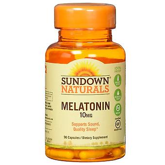SUNDOWN naturals melatoniny, 10 mg, kapsułki, 90 ea