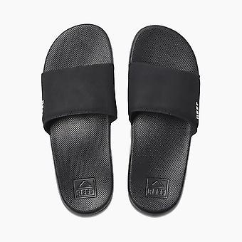 Reef Mens Sandals ~ Reef One Slide black