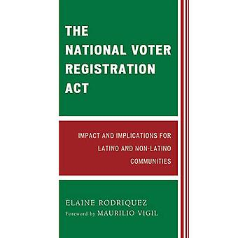 National Voter Registration Act Impact and Implications for Latino and NonLatino Communities by Rodriquez & Elaine