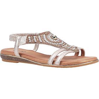 Divaz Womens/Ladies Magpie Slip On Sandal