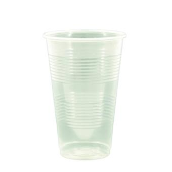 Robinson Young Plastic Disposable Half Pint Tumblers