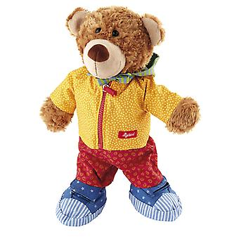 sigikid Dressed bear Leather Bear Soft PlayQ