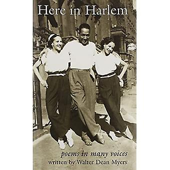 Here in Harlem (1 Hardcover/1 CD): Poems in Many Voices