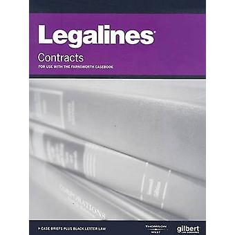Legalines on Contracts - Keyed to Farnsworth by Academic West - 97803