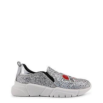 Love Moschino Women Grey Sneakers -- JA15976752