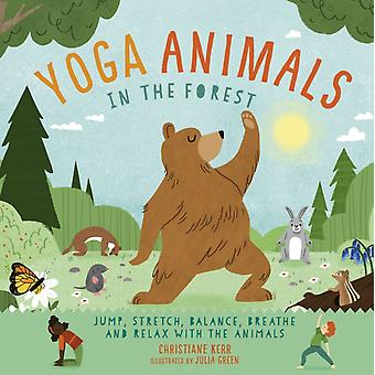 Yoga Animals In the Forest by Christiane Kerr