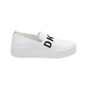 DKNY Alicia Women's Loafer White Slip-Ons Business Shoes