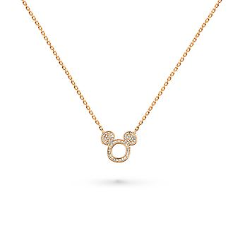 Necklace Mickey 18K Gold and Diamonds