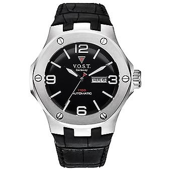 V.O.S.T. Germany V100.015 Steel automatic men's watch 44mm