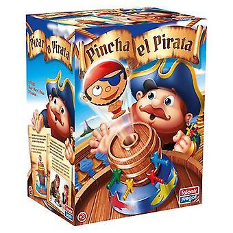Jogo de tabuleiro Pincha El Pirata Falomir (ES-PT)