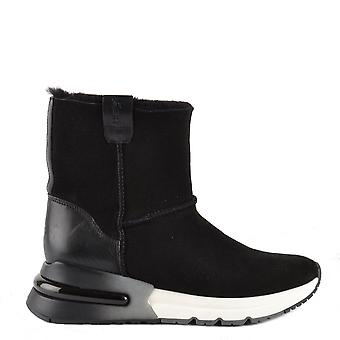 Ash Footwear Kyoto Black Shearling Boot