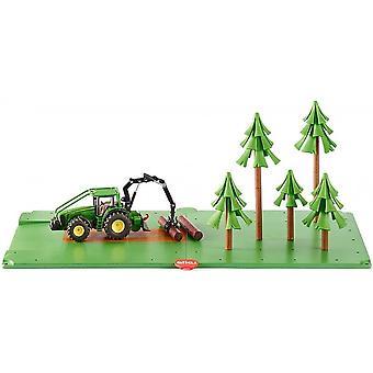 Set forestale Siku - Trattore Inc John Deere 5605