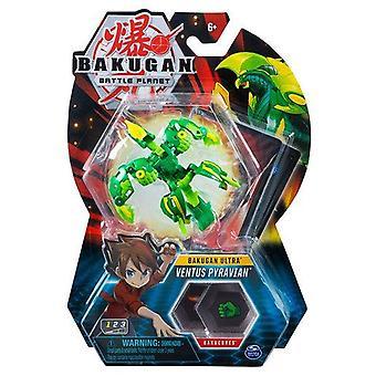 Bakugan Ultra 1 Pack 3 Inch Figure Ventus Pyravian