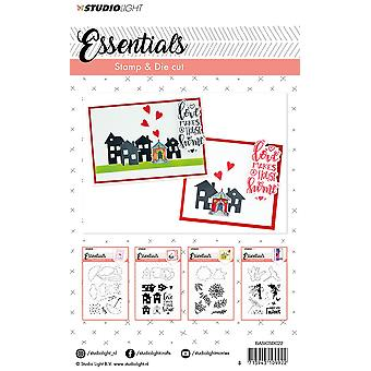 Studio Light A6 Stamp & Die Cut Basics Number 22