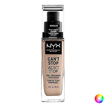 Liquid Make Up Base Can't Stop Won't Stop NYX (30 ml)/cacau 30 ml
