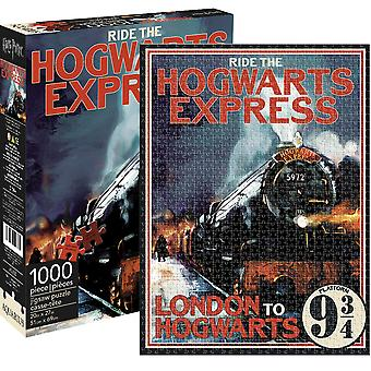 Harry Potter Hogwarts Express 1000 Piece Jigsaw Puzzle