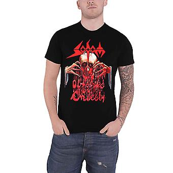 Sodom T Shirt Obsessed By Cruelty Band Logo nouveau officiel Mens Black