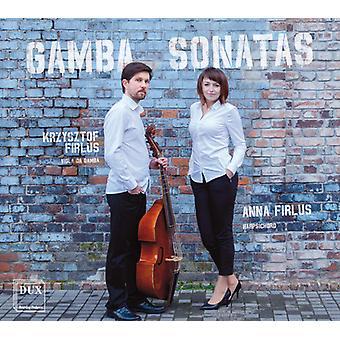 Bach, J.S. / Bach, C.P.E. - Gamba Sonatas [CD] USA import